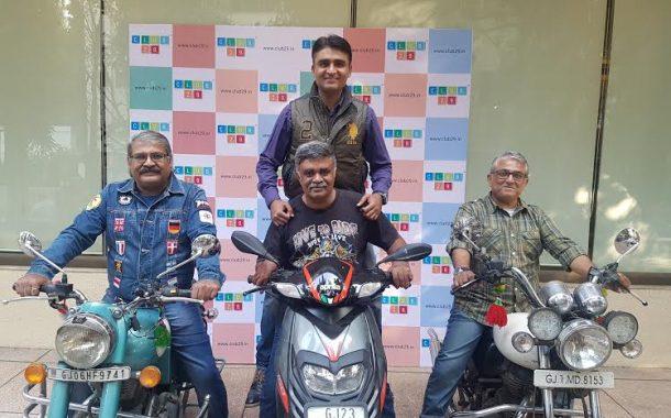 मोटारसायकलवर भारत ते लंडन प्रवास,१३७ दिवसात १९ देशांना भेटी
