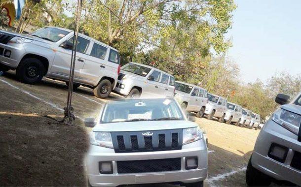 महाराष्ट्र पोलीस दलाच्या ताफ्यात 'महिंद्रा टीयुव्ही – 300' ची 100 वाहने दाखल