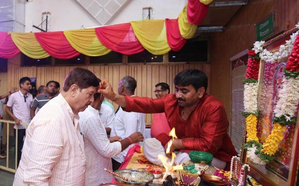पालकमंत्री गिरीश बापट, सामाजिक न्याय मंत्री दिलीप कांबळे यांच्या उपस्थितीत  'भक्ती के रंग, बाबाजी के संग'