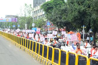 पिंपरी-चिंचवडमध्ये मराठवाडा मुक्तीसंग्राम दिन उत्साहात साजरा