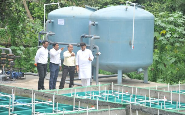 पुण्यात साकारला देशातील पहिला ग्रे वॉटर प्रक्रिया प्रकल्प  व्याप्ती वाढल्यास ५ टीएमसी पिण्याच्या पाण्याची  बचत सहजशक्य-आबा बागुल