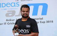 आंतर आयटी क्रिकेट 2017-18 स्पर्धेत कॅग्निझंट, सेल 2 वर्ल्ड , इन्फोसिस  संघांची आगेकुच