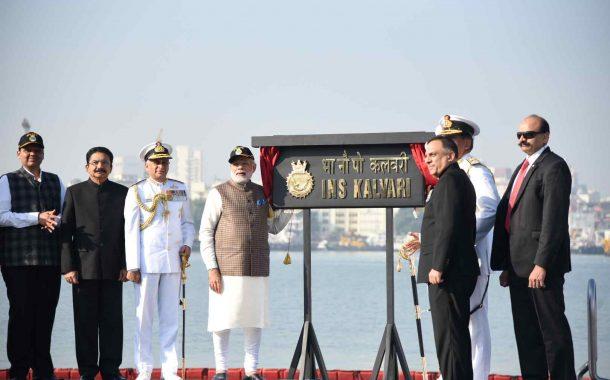 आयएनएस कलवरी हे मेक इन इंडियाचे उत्कृष्ट उदाहरण  आयएनएस कलवरी पाणबुडीमुळे भारतीय नौदल अधिक सक्षम  –       प्रधानमंत्री नरेंद्र मोदी
