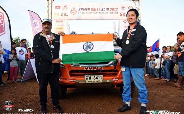 कंबोडियातील खडतर रॅलीत  संजय टकले उपविजेता