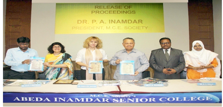 आबेदा इनामदार वरिष्ठ महाविद्यालय च्या आंतरराष्ट्रीय परिषदेला चांगला प्रतिसाद