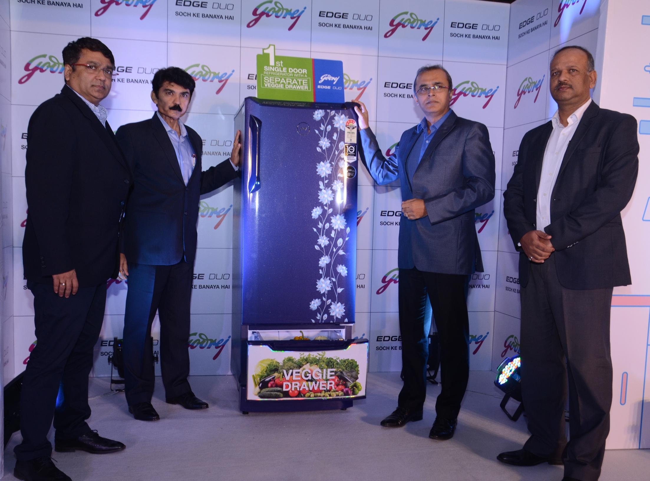 स्वतंत्र व्हेजिटेबल ड्रॉवर असलेला भारतातील पहिला सिंगल डोअर रेफ्रिजरेटर सादर