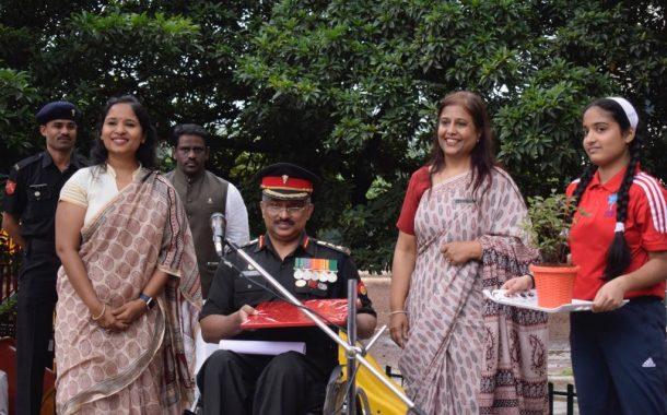 गोयल गंगा इंटरनैशनल स्कूलमध्ये वन प्रकल्पाचा शुभारंभ