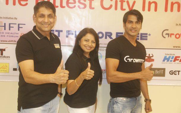 युएचएफएफ व ग्रोफिटर यांच्या संयुक्त विद्यमाने मेक पुणे द फिटेस्ट सिटी इन इंडिया या नव्या मोहिमेचे आयोजन