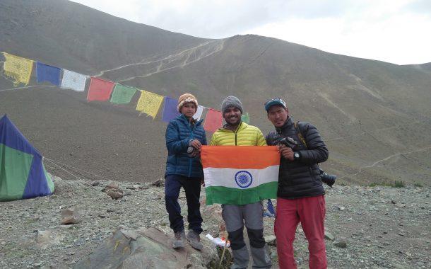 9 वर्षाच्या साई कवडे याने केली 16,339 फुटांवर चढाई