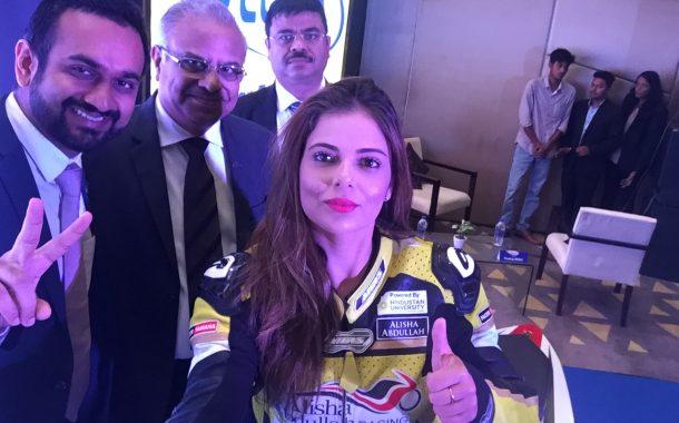 मोटार रेसिंग चॅम्पियन आलिशा अब्दुल्ला यांची 'वेलवेक्स'च्या ब्रॅंड अॅम्बेसेडरपदी निवड