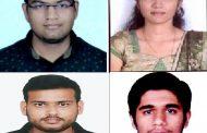 भारती विद्यापीठ अभियांत्रिकी महाविद्यालयाच्या  ४ विद्यार्थ्यांची 'मुंबई आयआयटी रिसर्च इंटर्नशिप 'साठी निवड