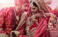 दीपिका -रणवीर च्या लग्नाचे फोटो …