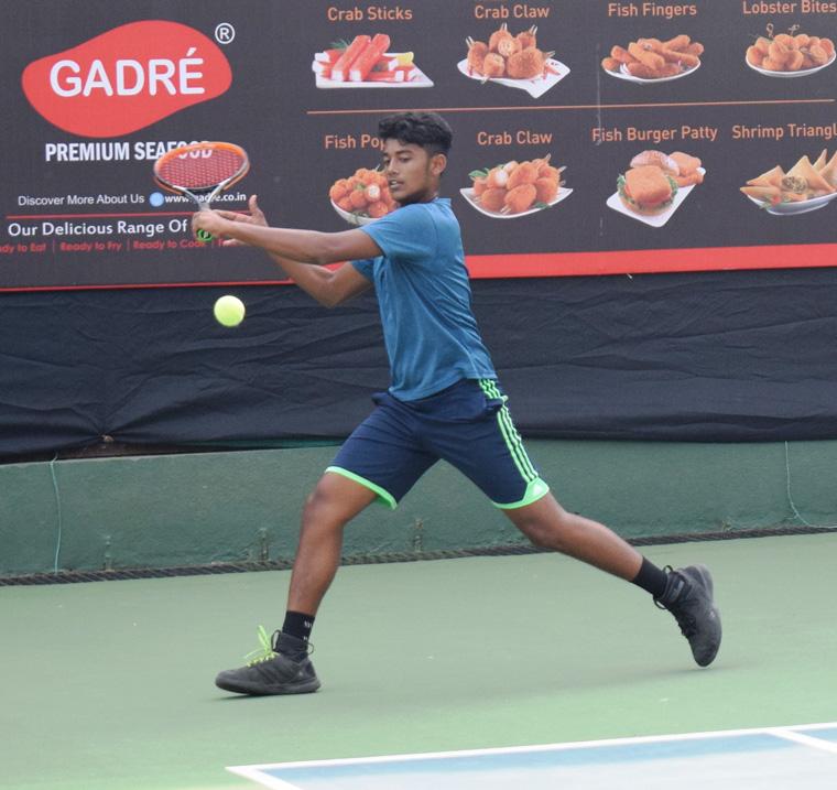 गद्रे-एमएसएलटीए आयटीएफ कुमार टेनिस अजिंक्यपद स्पर्धेत सर्वेश बिरमाणेचा मानांकित खेळाडूवर विजय