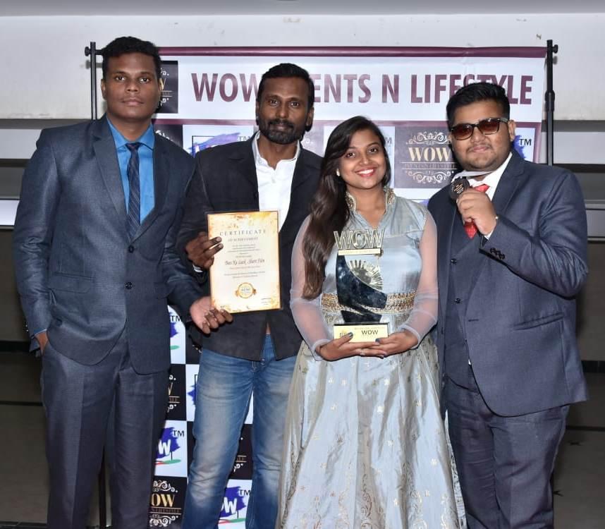 सरिता राठी, आदित्य लोणारी आणि 'बीस का लक' शॉर्ट फिल्म यांचा झाला गौरव