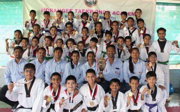 राष्ट्रीय तायक्वांदो स्पर्धेत होरांगी अकॅडमीच्या खेळाडूंचे यश