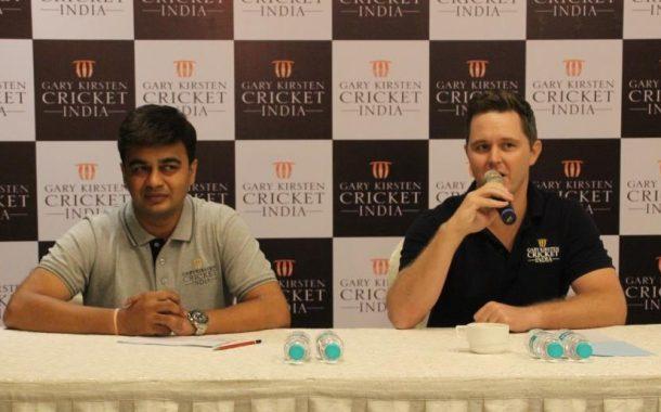 गॅरी कर्स्टन क्रिकेट इंडियाच्या नोंदणी व प्रशिक्षण वर्गाला सुरुवात