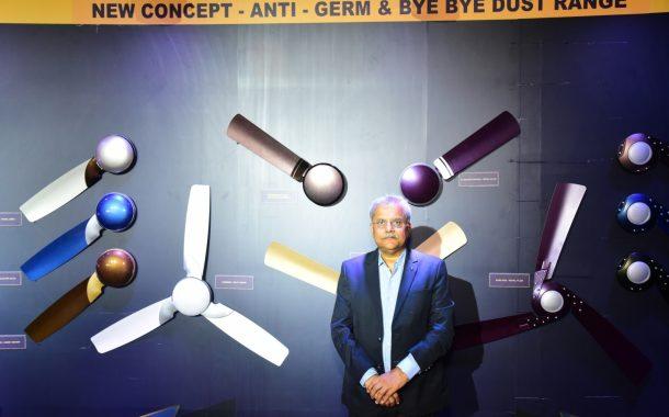 बजाज इलेक्ट्रिकल्सतर्फे भारतातील पहिली जंतू आणि धूळरोधक पंख्यांची दर्जेदार श्रेणी उपलब्ध