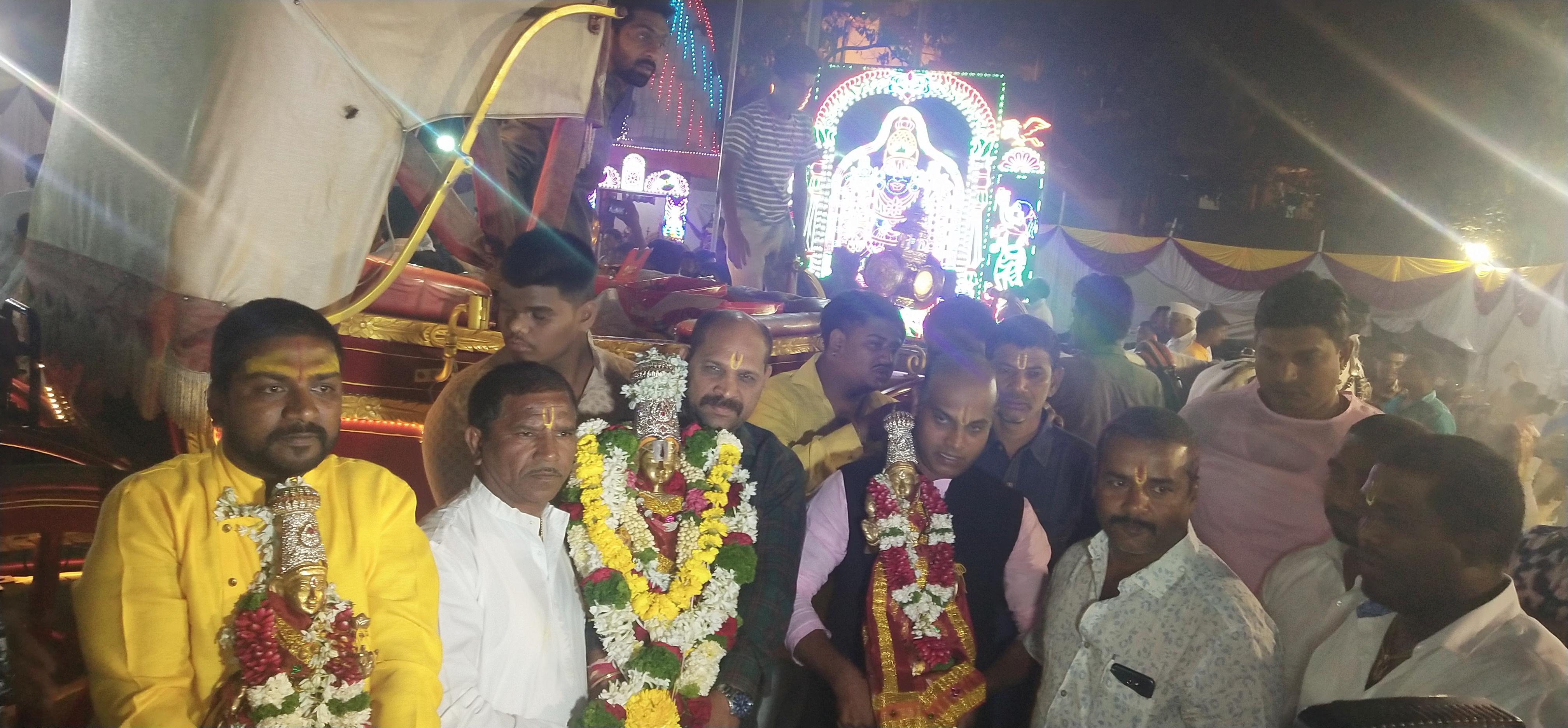 श्री बालाजी मंदिरात