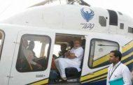 मोदींच्या हेलिकॉप्टरची तपासणी ; आयएएस अधिकारी मोहम्मद मोहसिन निलंबित