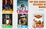 मार्चमध्ये रिलीज झालेल्या वेबसीरिजमध्ये 'मेड इन हेवन' सर्वाधिक लोकप्रिय !!