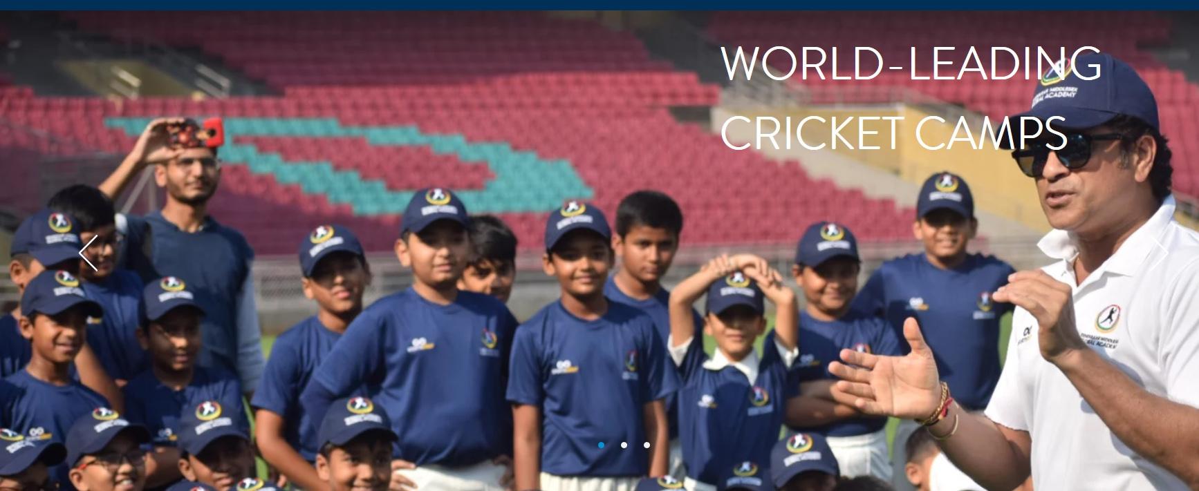 तेंडुलकर मिडलसेक्स ग्लोबल अकॅडमीतर्फे २०१९ मधील उन्हाळी क्रिकेट कॅम्प जाहीर