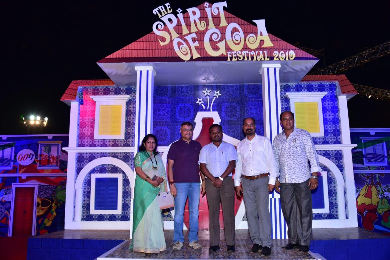 'द स्पिरिट ऑफ गोवा महोत्सवास' प्रारंभ