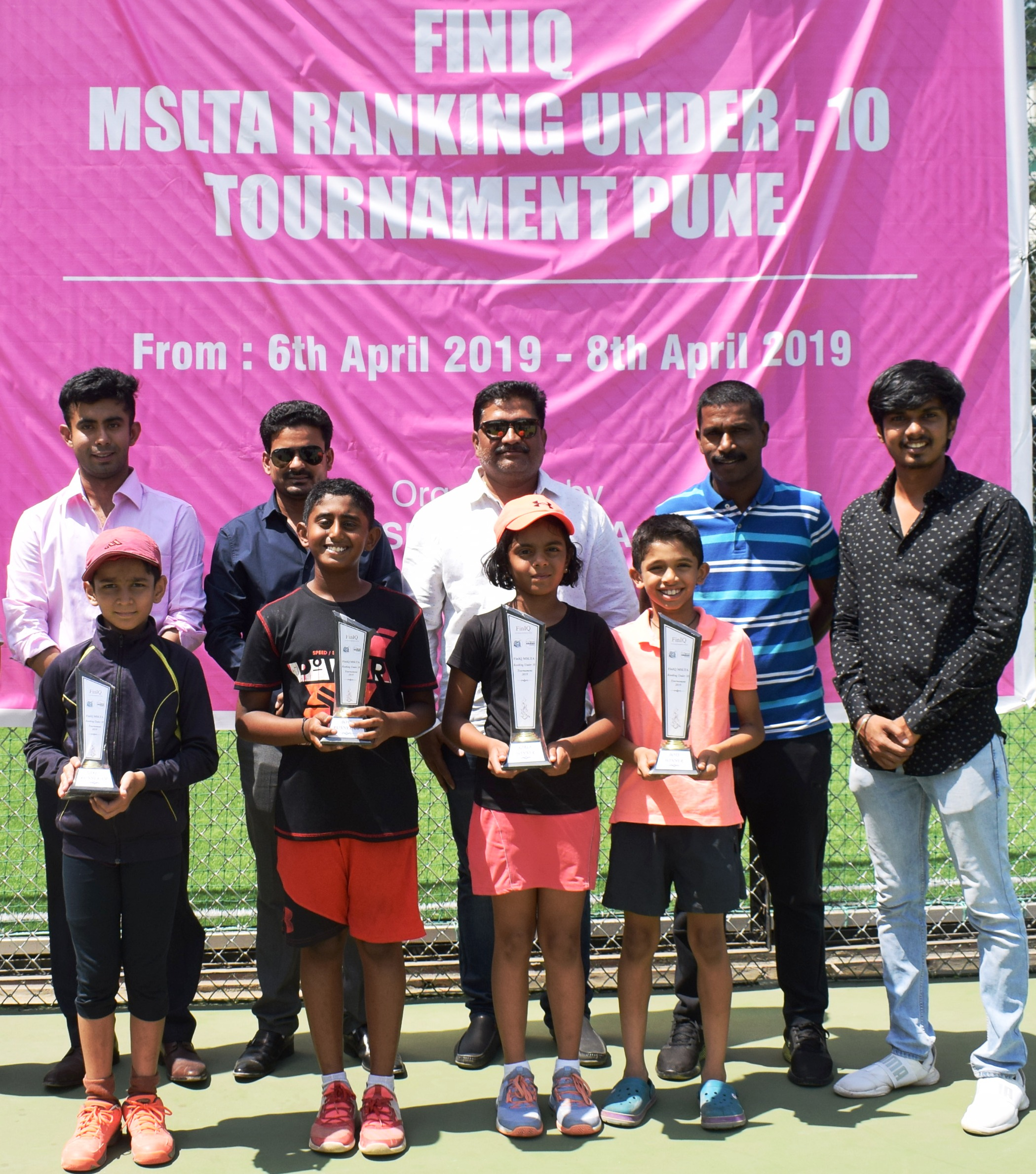 टेनिस स्पर्धेत नील केळकर, प्रिशा शिंदे यांना विजेतेपद