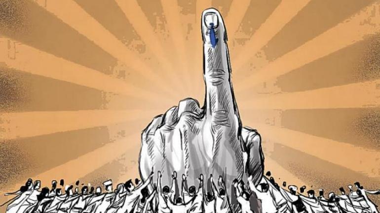 मावळ आणि शिरूर मध्ये कोठे किती मतदान