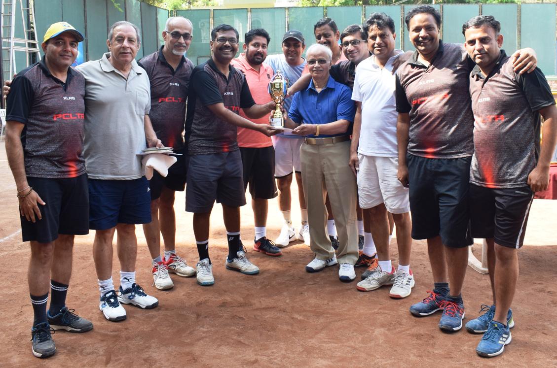 आठव्या शशी वैद्य मेमोरियल आंतर क्लब टेनिस स्पर्धेत पीसीएलटीए क्ले किंग्स संघाला विजेतेपद