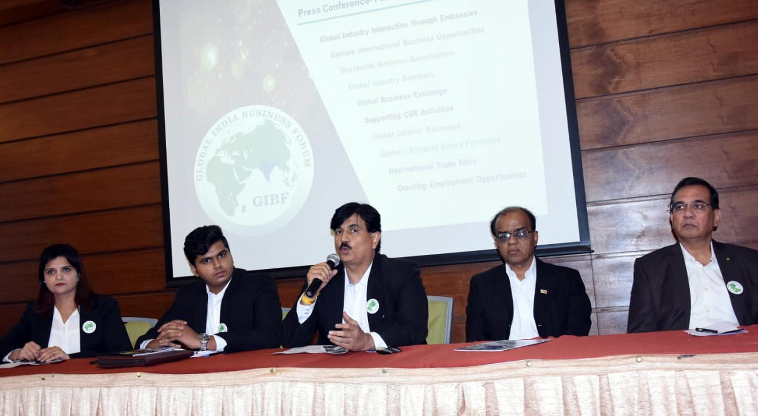 जागतिक स्तरावर उद्योग विस्तारासाठी  ग्लोबल इंडिया बिझनेस फोरमचे व्यासपीठ