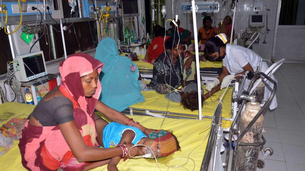 बिहारमध्ये मेंदूज्वरने 67 बालकांचा बळी,आरोग्यमंत्री म्हणाले, त्यांचे नशीबच खराब …