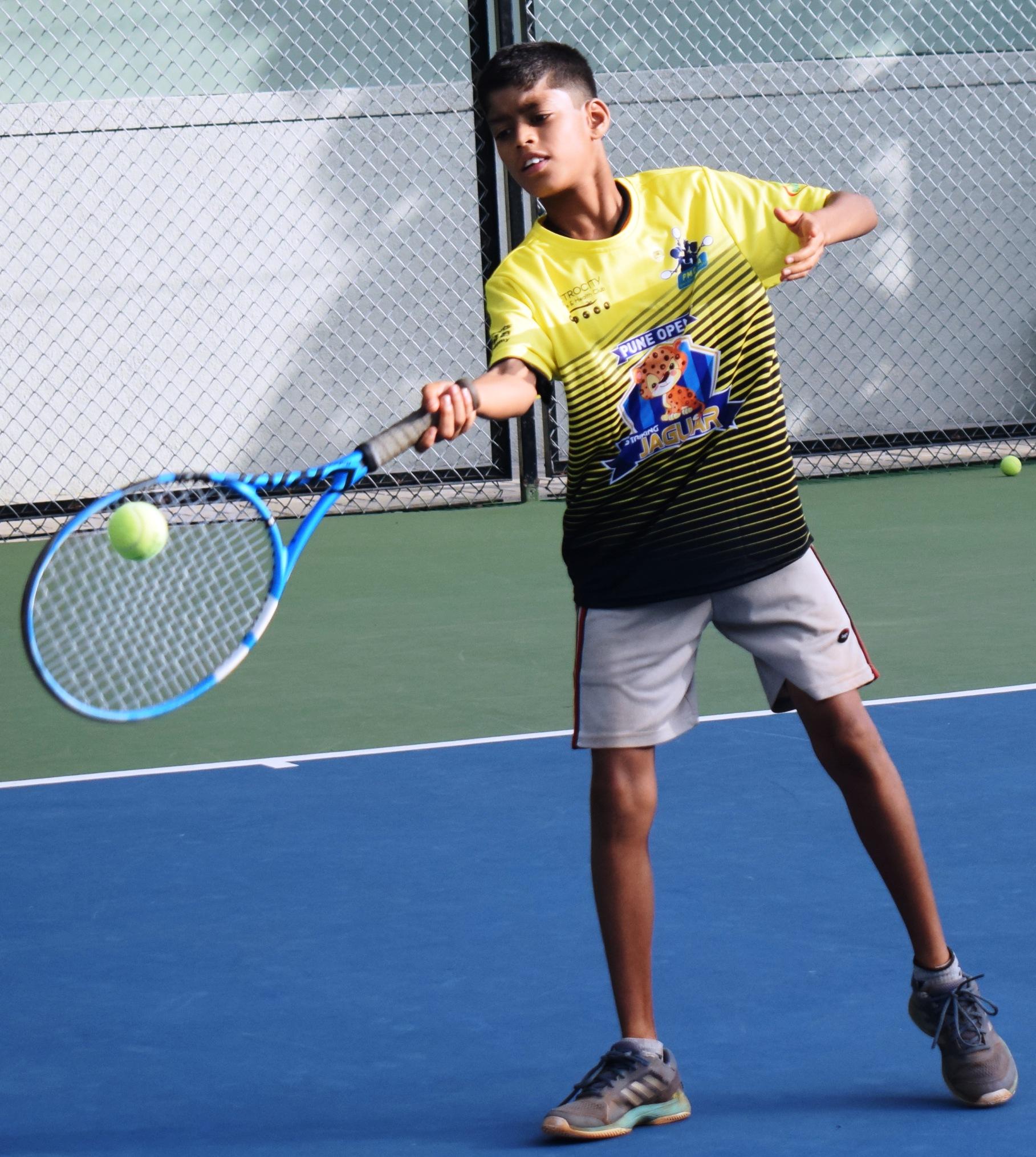 पीएमडीटीए ज्युनियर टेनिस लीग स्पर्धेत पुणे ओपन स्ट्रायकिंग जॅगवॉर्स संघाचा सलग दुसरा विजय