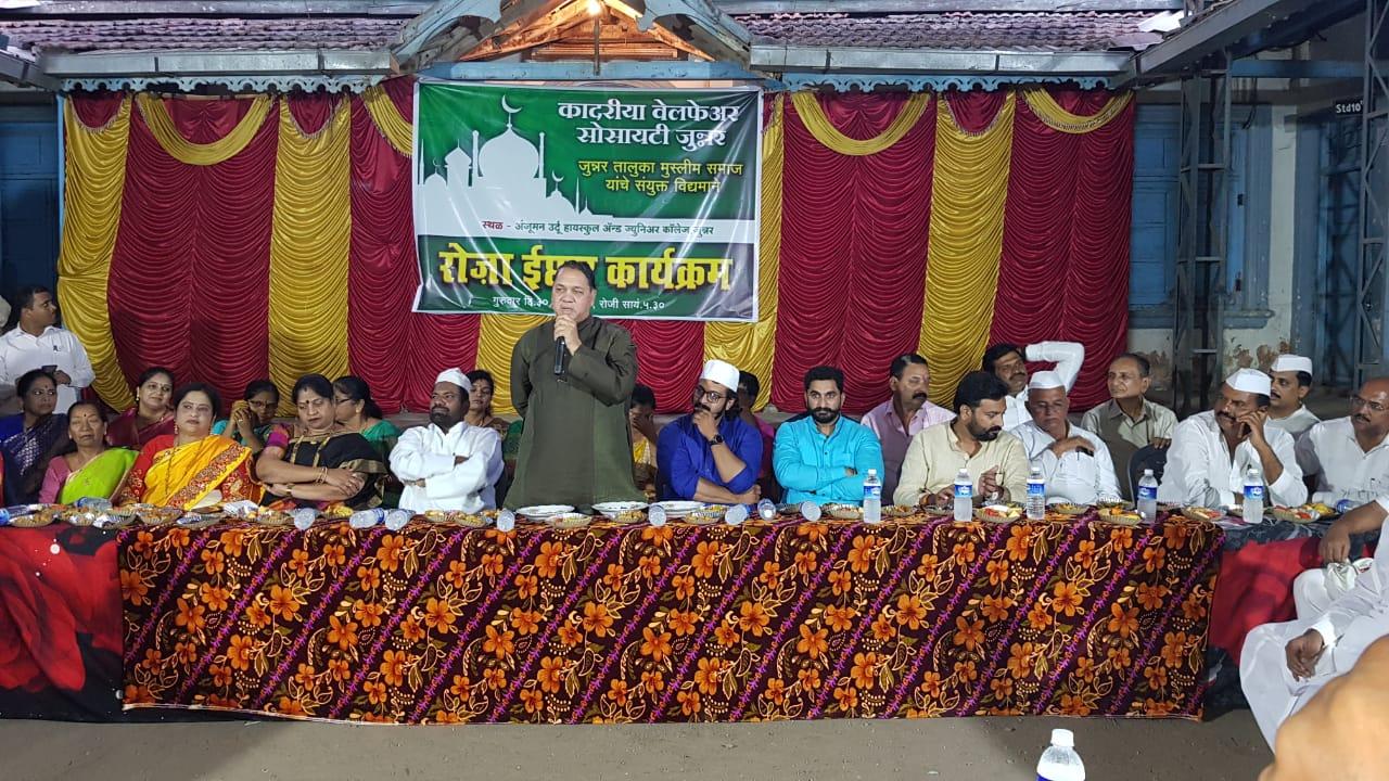 मुस्लिम समाजाच्या विकास कामांसाठी कटिबद्ध  – दिलीप वळसे पाटिल