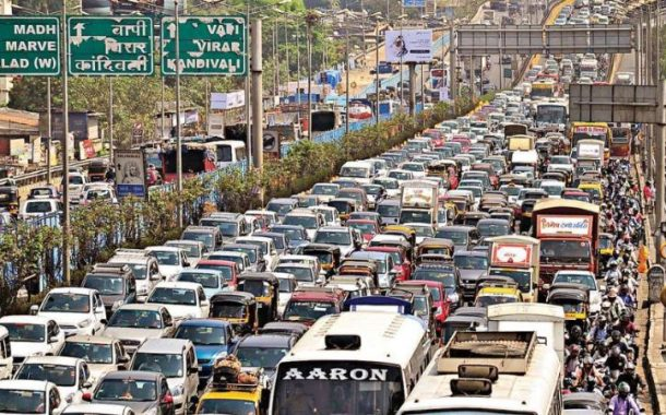 जगातल्या सर्वाधिक ट्रॅफिक असलेल्या 403 शहरांमध्ये; मुंबई नंबर-1, तर दिल्ली चौथ्या स्थानावर…