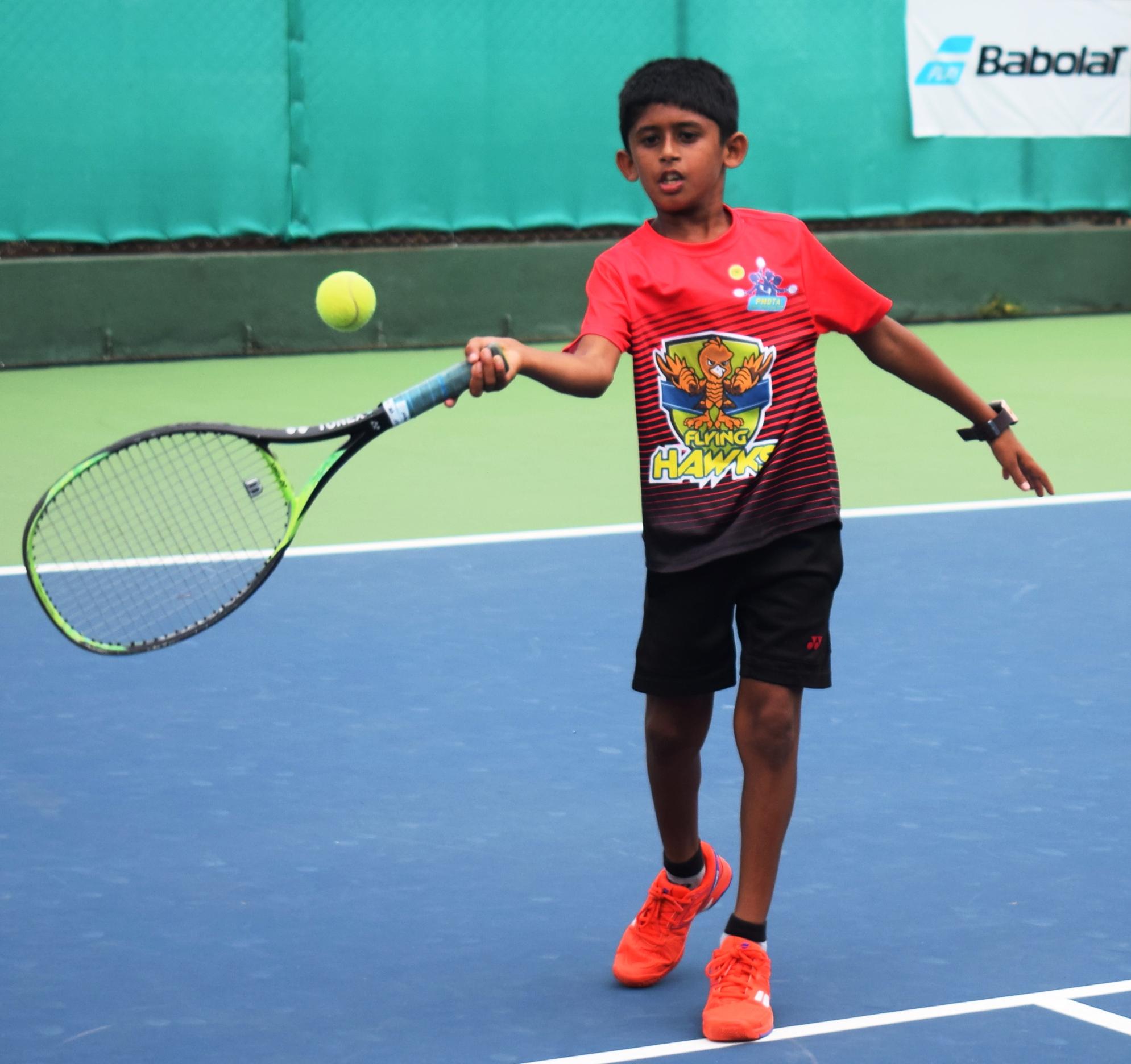 पीएमडीटीए ज्युनियर टेनिस लीग स्पर्धेत फ्लाईंग हॉक्स संघाचा दुसरा विजय