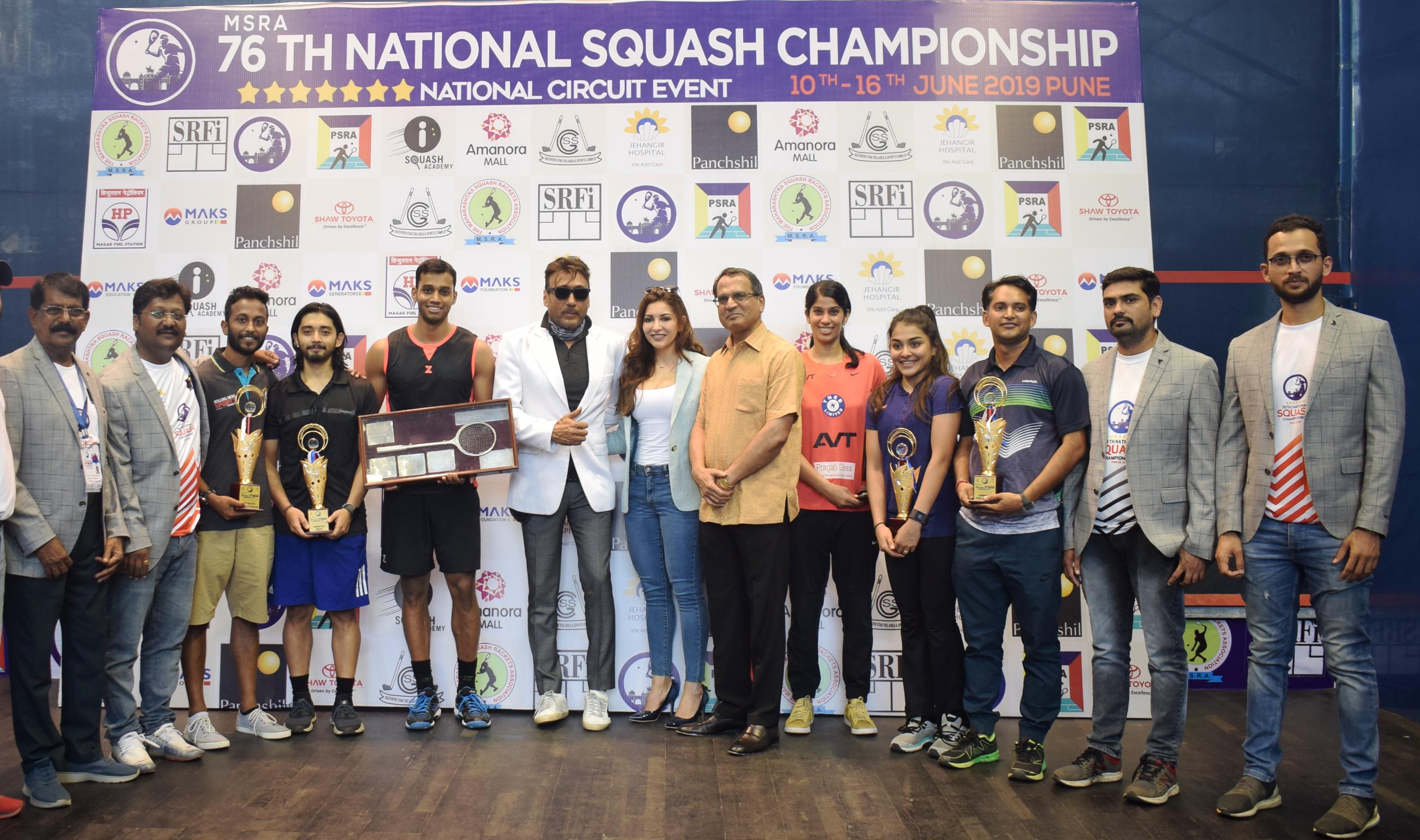 एमएसआरए 76व्या वरिष्ठ राष्ट्रीय स्क्वॅश 2019 अजिंक्यपद स्पर्धेत जोश्ना चिनप्पाला विक्रमी 17वे विजेतेपद