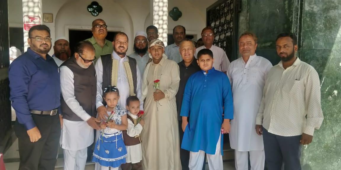 परदेशी विद्यार्थ्यांनी पुण्यात अनुभवला 'रमजान ईद ' चा गोडवा !