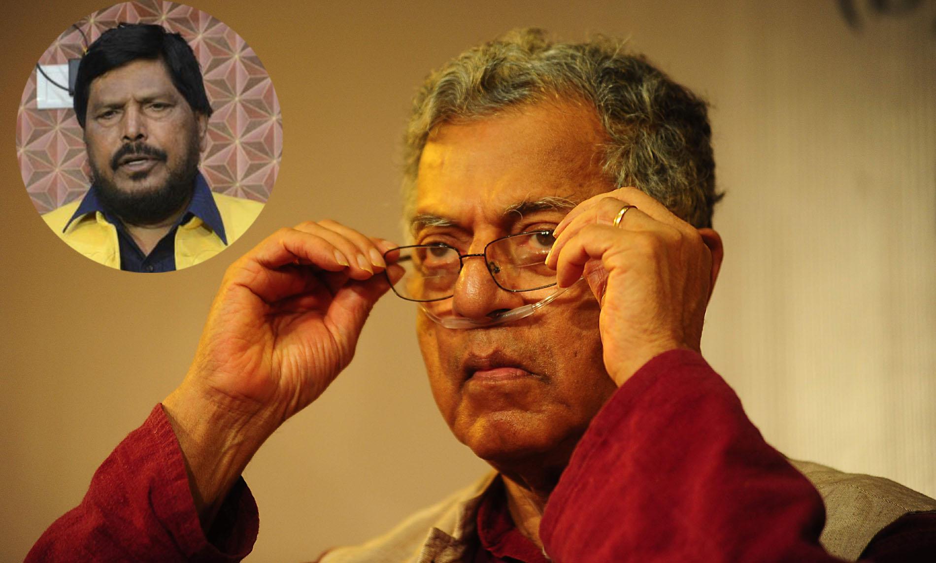 गिरीश कर्नाड यांच्या निधनाने साहित्य आणि अभिनयकलेचा संगम असणारे व्यक्तिमत्व हरपले – केंद्रिय राज्यमंत्री रामदास आठवले