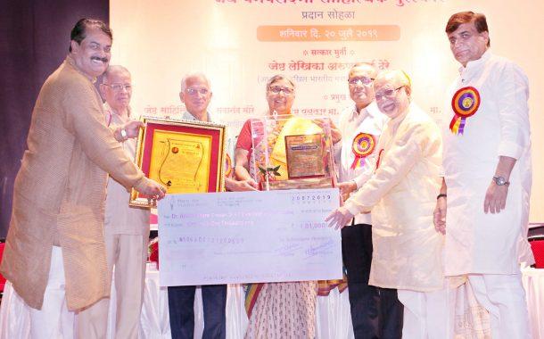 अरुणा ढेरे यांच्या साहित्य लेखनाने महाराष्ट्राला समृध्द केले –डॉ. सदानंद मोरे