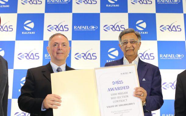 राफाएलतर्फे केआरएएसला 100 दशलक्ष डॉलर्सचे कंत्राट