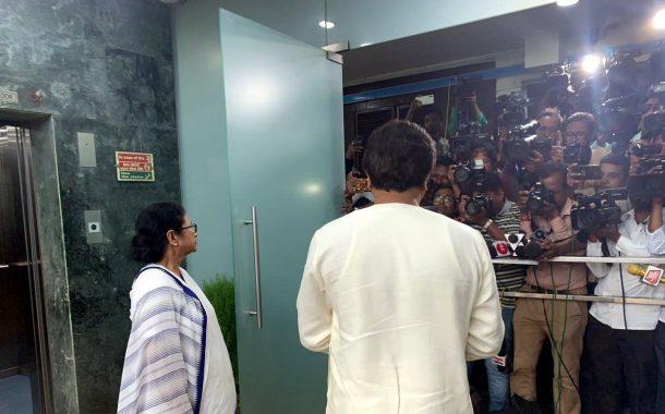 EVM हटावो -राज ठाकरेंनी घेतली पश्चिम  बंगालच्या मुख्यमंत्री ममता बॅनर्जींची भेट