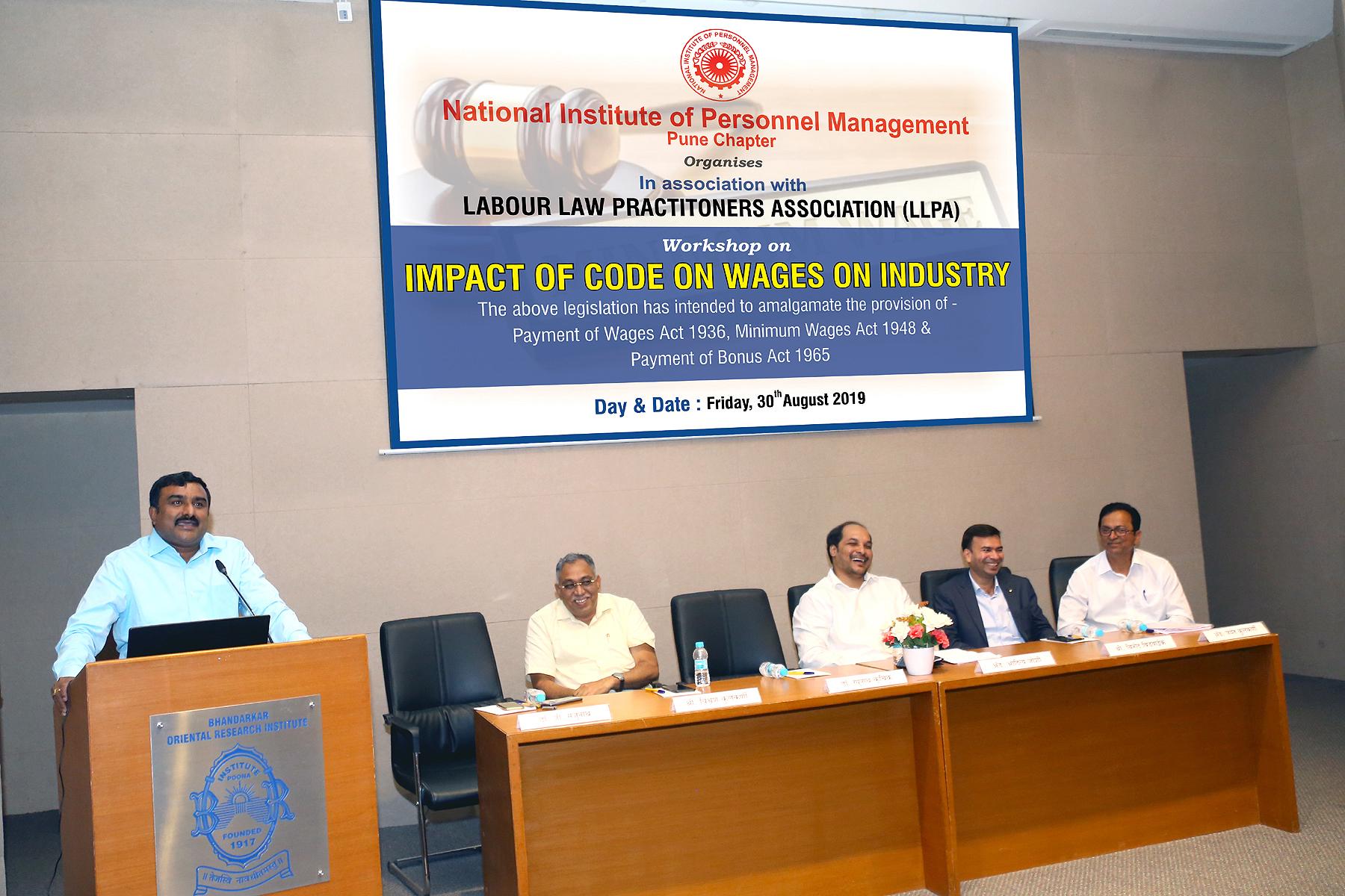 असंघटित कामगारांच्या हितासाठीचा  केंद्रसरकार्च्यावतीने नवा वेतन  कायदा अस्तित्वात - डॉ. मंजुनाथ