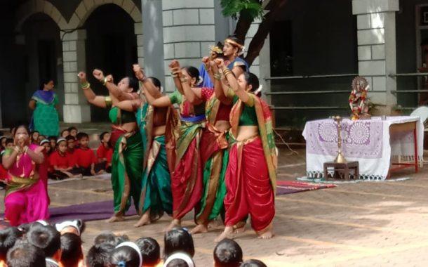 नवीन मराठी शाळेत मंगळागौरीचे खेळ-रमणबागेत संस्कृत दिन साजरा