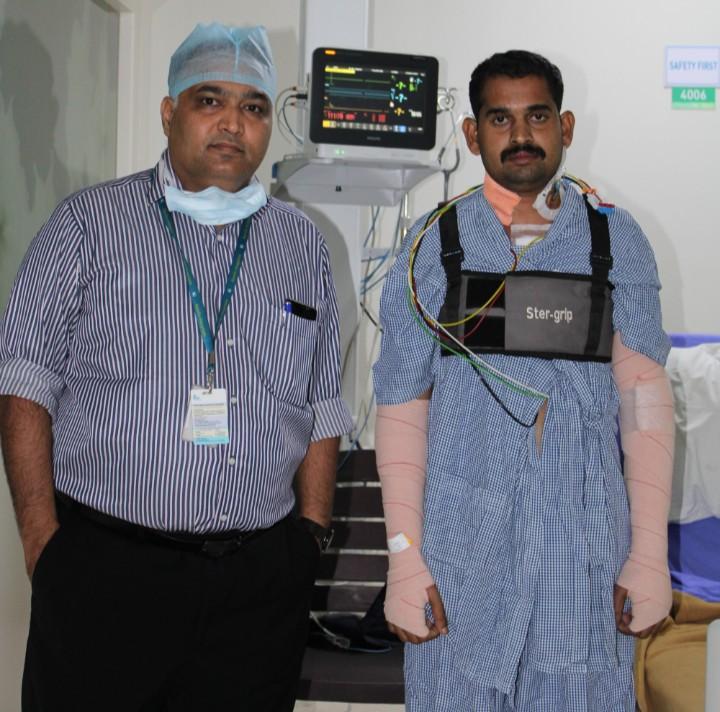 अपोलो हॉस्पिटल्समध्ये  हृदय प्रत्यारोपण