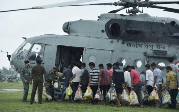 अडीच लाख नागरिकांना सुरक्षित स्थळी हलविण्यात प्रशासनाला यश- महसूलमंत्री चंद्रकांत पाटील