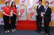 होंडा टुव्हीलर्स इंडिया आणि शेल ल्युब्रिकंट्सतर्फे इंजिन ऑइलची नवी श्रेणी लाँच