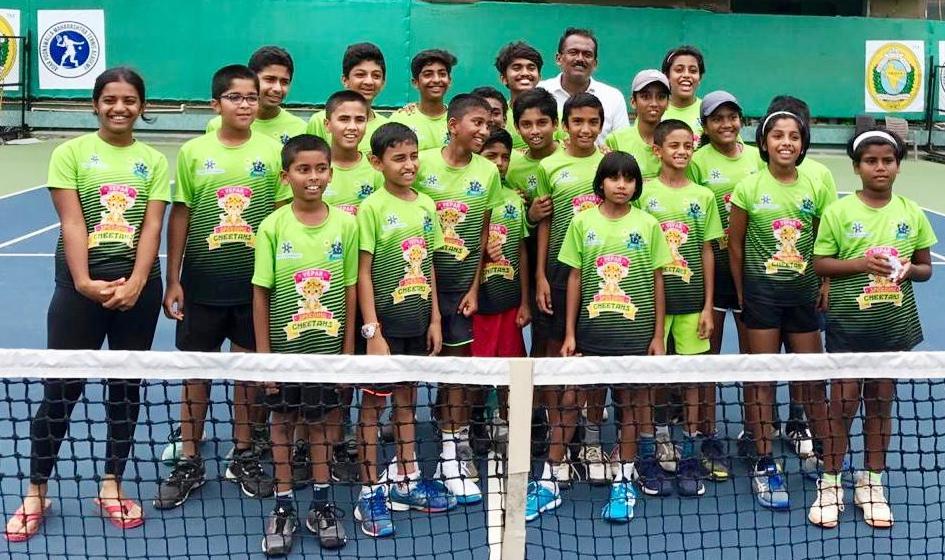 पीएमडीटीए ज्युनियर टेनिस लीग स्पर्धेत विपार स्पिडिंग चिताज संघाला विजेतेपद
