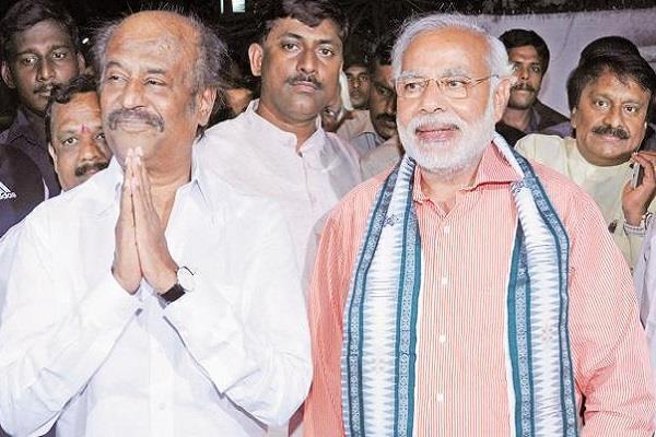 पंतप्रधान नरेंद्र मोदी आणि गृहमंत्री अमित शाह म्हणजे कृष्ण-अर्जुनाची जोडी- अभिनेता रजनीकांत