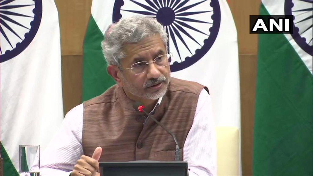 पाकव्याप्त काश्मीर लवकरच भारताच्या ताब्यात असणार!- परराष्ट्रमंत्री एस.जयशंकर