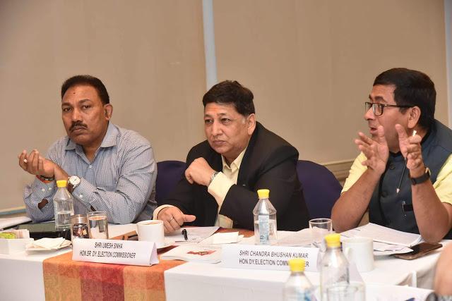 महाराष्ट्र विधानसभा निवडणुकीसाठी सज्ज होण्याचे यंत्रणांना निर्देश